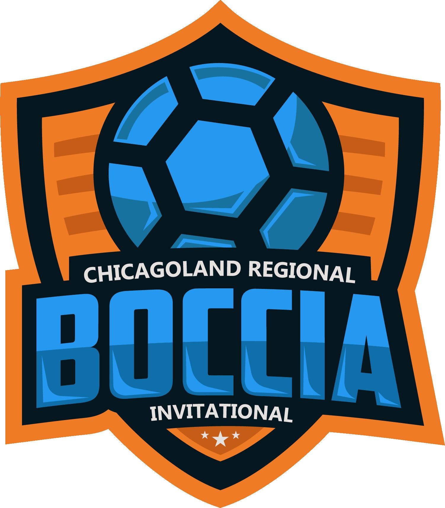 Chicagoland Regional Boccia Invitational logo. Links to event page.